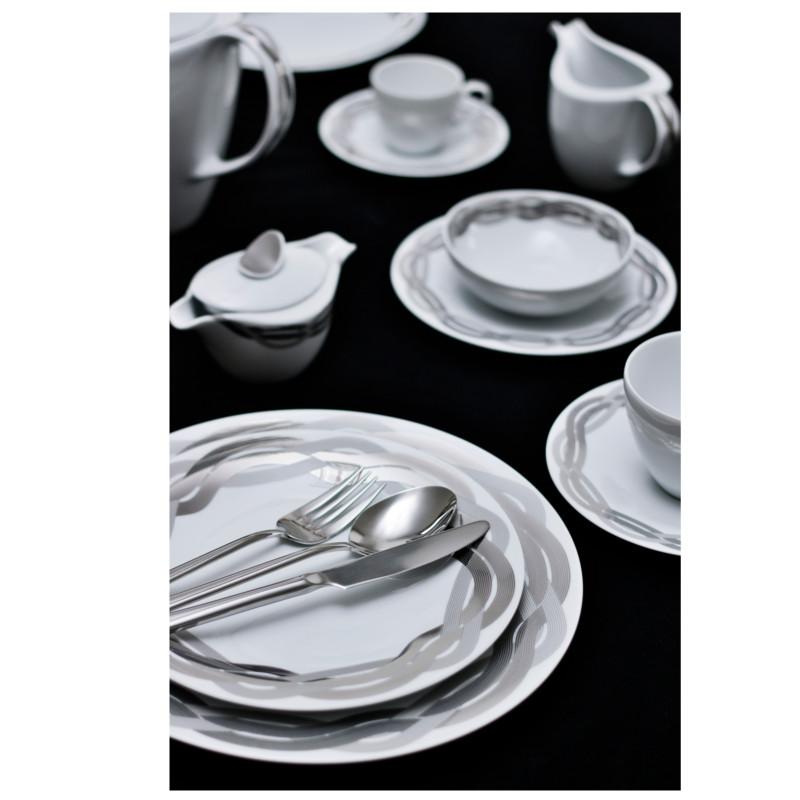 Vajilla porcel afrodite artesanos del cristal for Vajilla precio