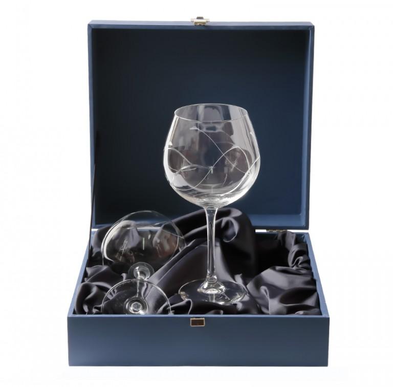 Estuche copas borgo a bohemia talladas artesanos del cristal for Copas bohemia