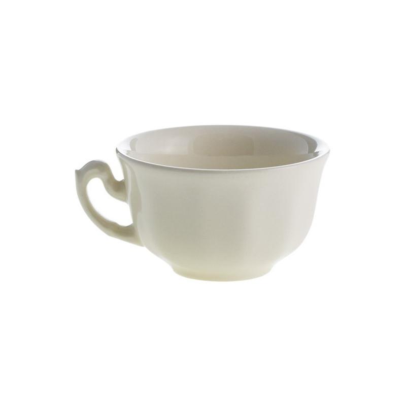 Aurora blanco juego te cartuja de sevilla artesanos del for Juego de tazas de te