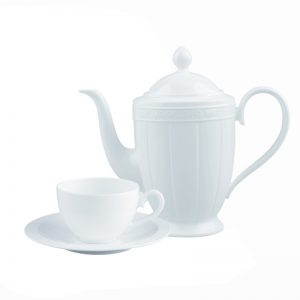 Juego cafe villeroy boch white pearl