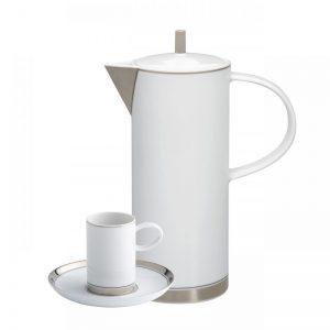 Juego cafe vista alegre domo plata