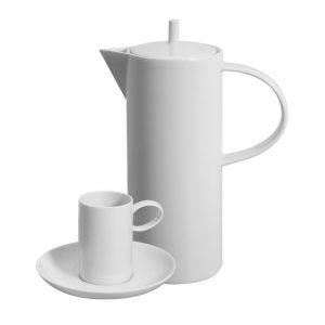 Juego cafe Vista Alegre Domo Blanco