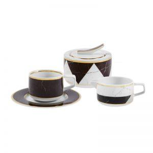 Juego de cafe vista alegre carrara